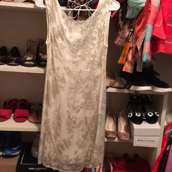 Alice + Olivia Dresses & Skirts - Alice+olivia white sequins silk dress 2